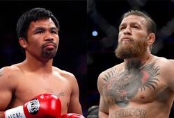 Manny Pacquiao ưu tiên Conor McGregor cho ngày trở lại võ đài