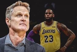 HLV Golden State Warriors so sánh LA Lakers với đội hình 73-9
