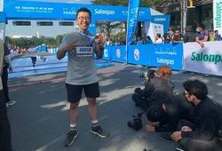 Warzone hoàn tất đường chạy 42 km của Marathon HCMC Salonpas 2021