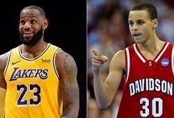 Hé lộ: LeBron James dự đoán trước tương lai về Stephen Curry vào năm 2008?