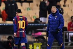Messi nhận án phạt chính thức cho thẻ đỏ ở trận gặp Bilbao
