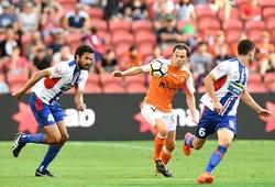 Trực tiếp bóng đá Úc hôm nay 20/1: Newcastle Jets vs Brisbane Roar