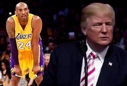 Một trong những điều cuối cùng ông Donald Trump làm là… tri ân Kobe Bryant?