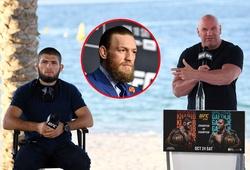 """Conor McGregor đề nghị UFC tước đai Khabib Nurmagomedov """"nếu tiếp tục né tránh"""""""