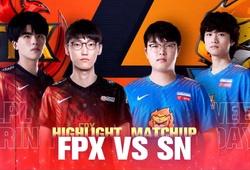 Trực tiếp LPL Mùa Xuân 2021 hôm nay 23/1: SN vs FPX
