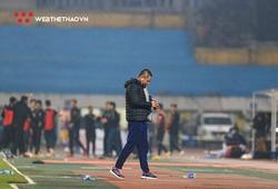 HLV Chu Đình Nghiêm nhận lỗi, than phiền chất lượng đội hình Hà Nội