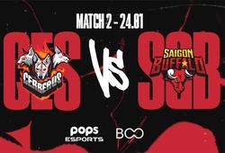 Trực tiếp VCS Mùa Xuân 2021 hôm nay 24/1: CES vs SGB