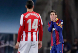 """Messi xuống tóc """"giải đen"""" sau khi nhận án treo giò"""