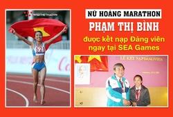 """Kết nạp Đảng khi đang thi đấu SEA Games: Ký ức không quên của """"Nữ hoàng marathon"""" Phạm Thị Bình"""