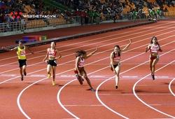 Đối thủ kỵ giơ tại SEA Games của Lê Tú Chinh phá kỷ lục quốc gia chạy 60m