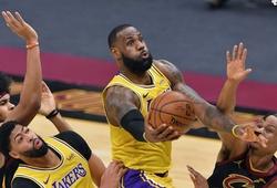 Highlight và kết quả NBA ngày 26/1: Curry và LeBron cùng rực sáng
