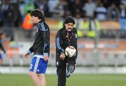 Video độc về Messi và Maradona gây sốt trên mạng xã hội