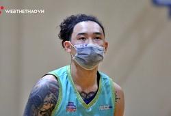 Tâm Đinh đeo khẩu trang đấu Chung kết Ba Dinh Super League
