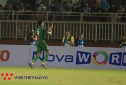 Đỗ Merlo ghi bàn, SLNA chưa biết thắng Sài Gòn trên sân Thống Nhất
