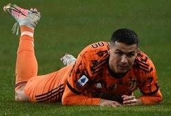 Ronaldo trải qua thời gian tịt ngòi lâu nhất tại Juventus