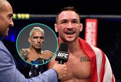 Charles Oliveira từ chối trận đấu gấp với Michael Chandler tại UFC 258