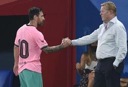 HLV Koeman nói gì về khả năng Messi rời Barca?
