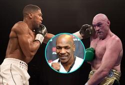 """Mike Tyson: """"Joshua đánh quá lộ đòn, sẽ là thảm họa nếu đấu Tyson Fury"""""""