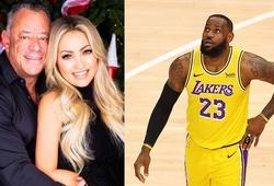 """Cô vợ tỷ phú đấu khẩu với LeBron James: """"Tôi xin lỗi vì đã thiếu kiềm chế"""""""