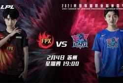 Trực tiếp LPL Mùa Xuân 2021 hôm nay 4/2: Doinb bất tử - FPX đại thắng LNG