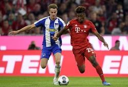 Video Highlight Hertha Berlin vs Bayern Munich, bóng đá Đức hôm nay 6/2
