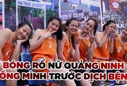 Bóng rổ nữ Quảng Ninh nỗ lực chống đại dịch trước mùa giải mới