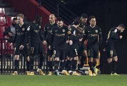 Barca trải qua lịch thi đấu khó tin trên sân khách trong 12 trận