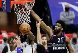 Vắng cả Durant lẫn Irving, Brooklyn Nets gục ngã trước Philadelphia 76ers