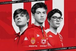 AS Monaco hợp tác với Gambit, đầu tư vào Esports