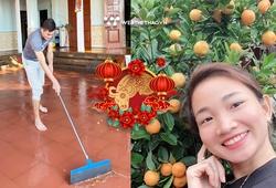 Nguyễn Thị Oanh, Quách Công Lịch tất bật dọn nhà đón Tết Tân Sửu