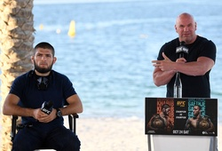 Dana White gợi ý vòng đấu loại hạng nhẹ UFC, khẳng định Khabib vẫn giữ đai vô địch