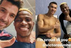 Cầu thủ bị chỉ trích vì xin đổi áo và chụp ảnh cùng Ronaldo