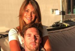Messi tổ chức Lễ tình nhân lãng mạn cho vợ yêu
