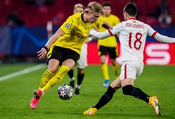 Video Highlight Sevilla vs Dortmund, bóng đá cúp C1 hôm nay 18/2