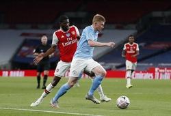 Lịch trực tiếp Bóng đá TV hôm nay 21/2: Arsenal vs Man City