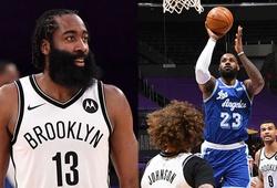 Thiệt quân và chơi có phần dưới sức, LeBron cùng LA Lakers gục ngã trước Brooklyn