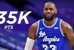 LeBron James cán cột mốc ghi điểm mới: Sánh ngang các huyền thoại NBA
