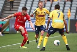 Trực tiếp Adelaide United vs Central Coast Mariners, bóng đá Úc hôm nay 19/2