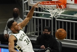 Antetokounmpo ghi 29 điểm, Milwaukee Bucks khép chuỗi 5 trận toàn thua