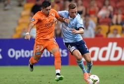 Trực tiếp Sydney vs Brisbane Roar, bóng đá Úc hôm nay 20/2