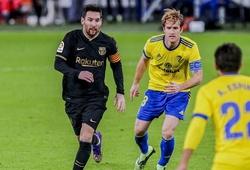 Messi sẵn sàng kéo dài kỷ lục La Liga ở trận Barca vs Cadiz