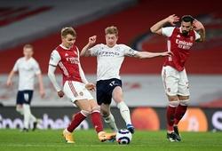 Xem lại bóng đá Ngoại hạng Anh đêm qua Arsenal vs Man City