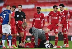 Liverpool khốn đốn khi phải dùng 19 cặp trung vệ ở mùa này