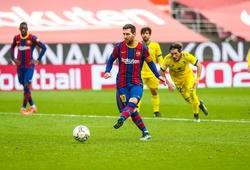 Messi chỉ chưa ghi bàn trước 8 đối thủ nào trong sự nghiệp?