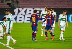 Video Highlight Barca vs Elche, bóng đá Tây Ban Nha hôm nay 25/2