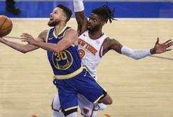 Stephen Curry dội cơn mưa 3 điểm, nhấn chìm mọi nỗ lực của New York Knicks