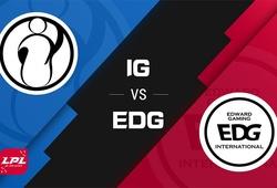 Trực tiếp LPL Mùa Xuân 2021 hôm nay 26/2: IG vs EDG