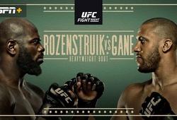 Trực tiếp UFC Fight Night: Gane vs. Rozenstruik - 8h00 ngày 28/2