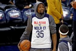 Bất chấp chấn thương, Kevin Durant vẫn giữ suất đội trưởng NBA All-Star