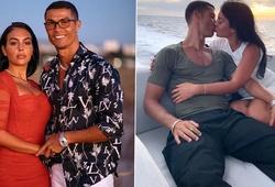 Bạn gái Rodriguez xấu hổ khi tập cùng Cristiano Ronaldo